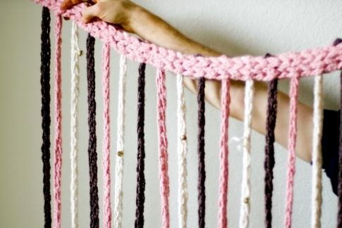 шторы своими руками из подручных материалов фото